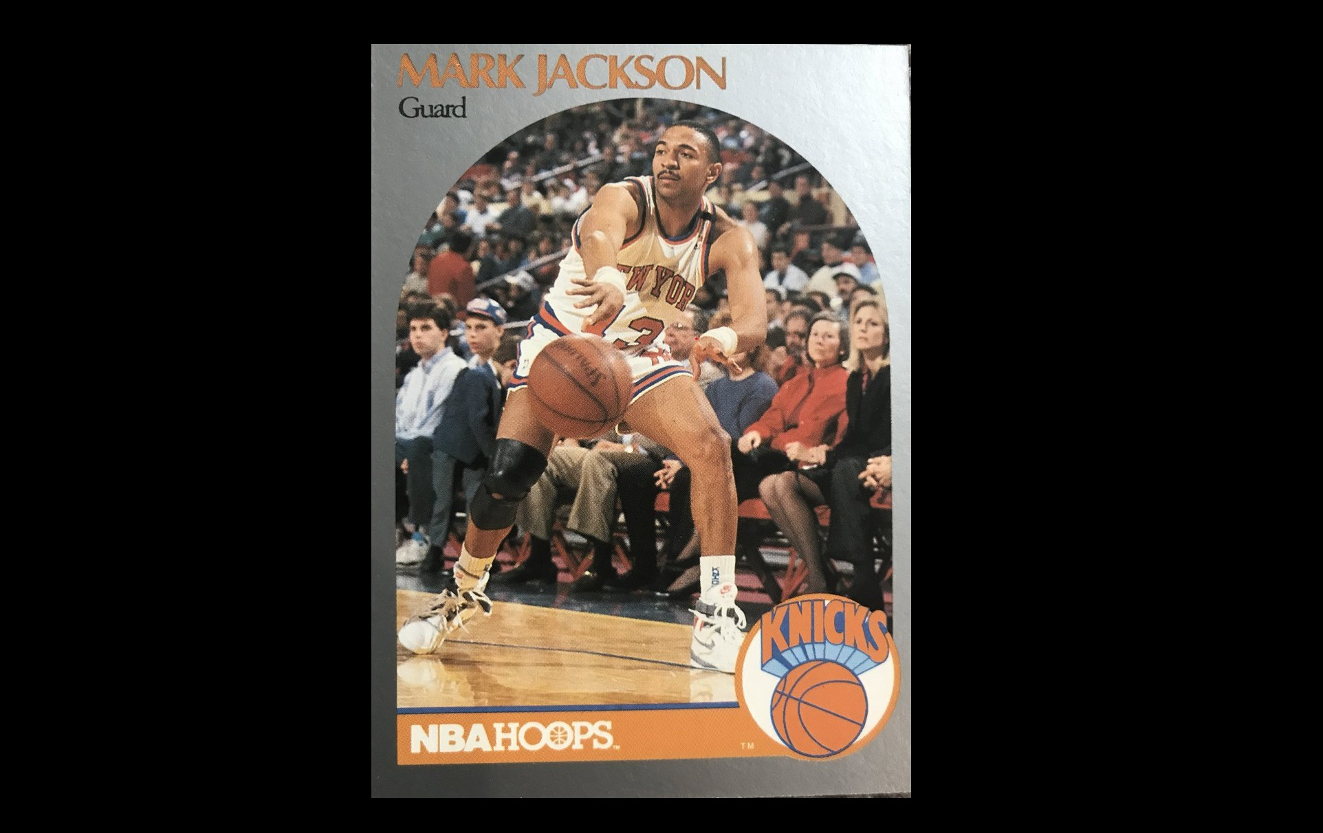 Mark Jackson Basketball Card Features Murderers In